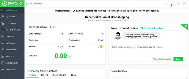 amazon dropshipping suppliers